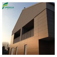 High quality eco-friendly weather resistant wood plastic composite exterior wall cladding