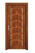House front steel wood armored door luxury bullet proof door