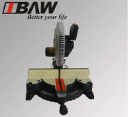Sliding Miter Saw with Laser Features: 1. Transparent movable guard allows excellent visibility and