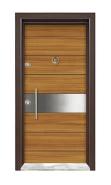 modern doors exterior house bullet proof steel wood armored door