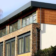 good price customized ANTI-UV HPL Compact Building Facade/External Wall Cladding