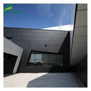 FMH Uv proof hpl wall cladding phenolic resin compact laminate board for external