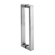 GBHB 016 Stainless steel glazed door pull handle