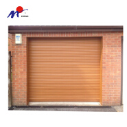 Home use side motor aluminum alloy rolling shutter garage door