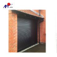 Good quality foam injection galvanized steel rolling shutter door