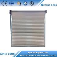 Remote control manual handling rolling shutter drive garage doors