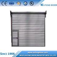 Precision decorative single layer rolling shutter garage door openers