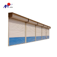 Safe galvanized steel automatic rolling shutter door springs prices