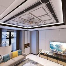 Aluminum Gusset Ceiling