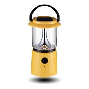 Rechargeable mini lantern solar panel light
