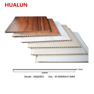 600MM Decorative Fireproof Rectangle Wood Wall Panel
