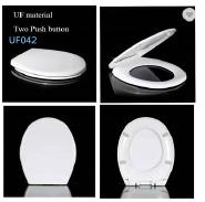 European market round design toilet seat soft close UF duroplast Toilet seat cover 042UF
