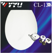 Soft-closed White UF WC Toilet Seat Cover Bathroom Toilet Seat 126
