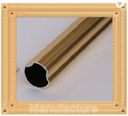 HY8210 Gold Decorative Curtain Poles