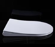 U001 European standard sanitary slim design soft close uf toilet seat cover