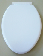 America style elongated shape soft close modern design toilet seat cover 1026