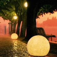 2019 Amazon hot seller Color changes solar energy courtyard circular waterproof wall light outdoor wall LED Garden lamp