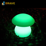 2019 New Outdoor decoration led flashing mushroom lights