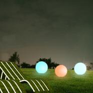 2019 Hot sale Color changes inside RGB waterproof IP68 solar garden wall LED lamp led light
