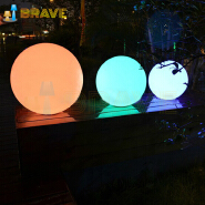 2019 Hot sale Color changes waterproof LED circular courtyard lamp for Garden