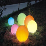 Magic LED Ball /PE Material Rotational Moulding floating ball chocolate mould ball