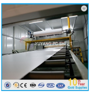 1.5-12mm Translucent Solid Polycarbonate Sheet Up to 88% that of same thickness of general glass