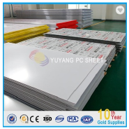 1-5mm embossed solid polycarbonate sheet