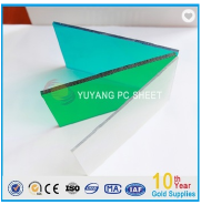 bayer virgin materials colored POLYCARBONATE SOLID SHEET for sound barrier