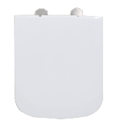 smooth duroplast D shape square toilet seat for bathroom