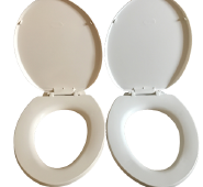 manufacturer one piece Duroplast toilet seat cover