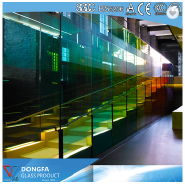 High quality &cheap 15mm tempered laminated glass
