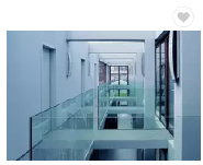 5+1.52PVB+5MM CLEAR laminated glass handrail