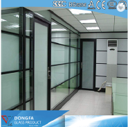 Insulated glass for buildings