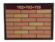 Best selling wire cutting surface yellow 60x240mm exterior wall antique brick