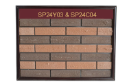 High quality free sample antique exterior veneer clay red thin brick