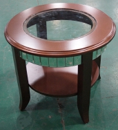 Taishan Hongsing Glass Hardware Product Co., Ltd. Corner Tables