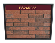 New high strength customized color thin clay brick veneer for siding