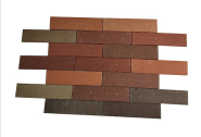 Ecofriendly multiply colors wall covering thin tiles outdoor decorative wall bricks