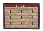 Australia hot selling custom rock surface clay faux brick panels exterior