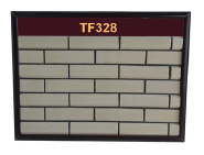 High strength interior covering thin clay white brick wall panel