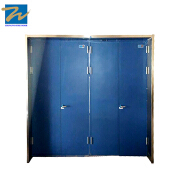 Factory Direct Price Galvanized Steel 2 Hours Rating Anti-fire Door