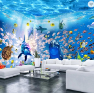 Guangzhou Magic Color Digital Painting Co., Ltd. 3D Wallpaper