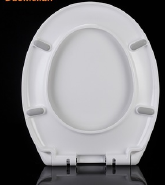 Self-clean UF Toilet Seat