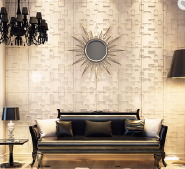 eco-friendly bamboo fiber material interior wallpaper home decoration