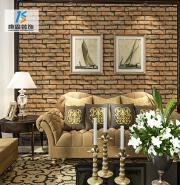 Professional factory low price mosaic colorful tile 3d brick wall marble sticker