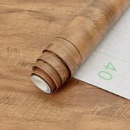 China PVC Natural wood grain self adhesive backed wallpaper for furniture