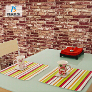 Best selling 3d brick wall paper