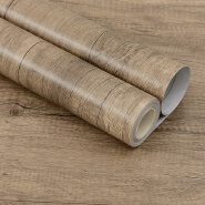 China PVC Wood Grain Design wallpaper Professional Manufacturer
