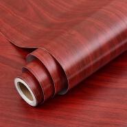 Modern Wood Grain Pattern Colourfol Decorative Films pvc wallpaper