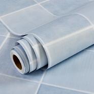 Mosaic oil-proof Plaid pvc self-adhesive wallpaper designs for kitchen/ bathroom